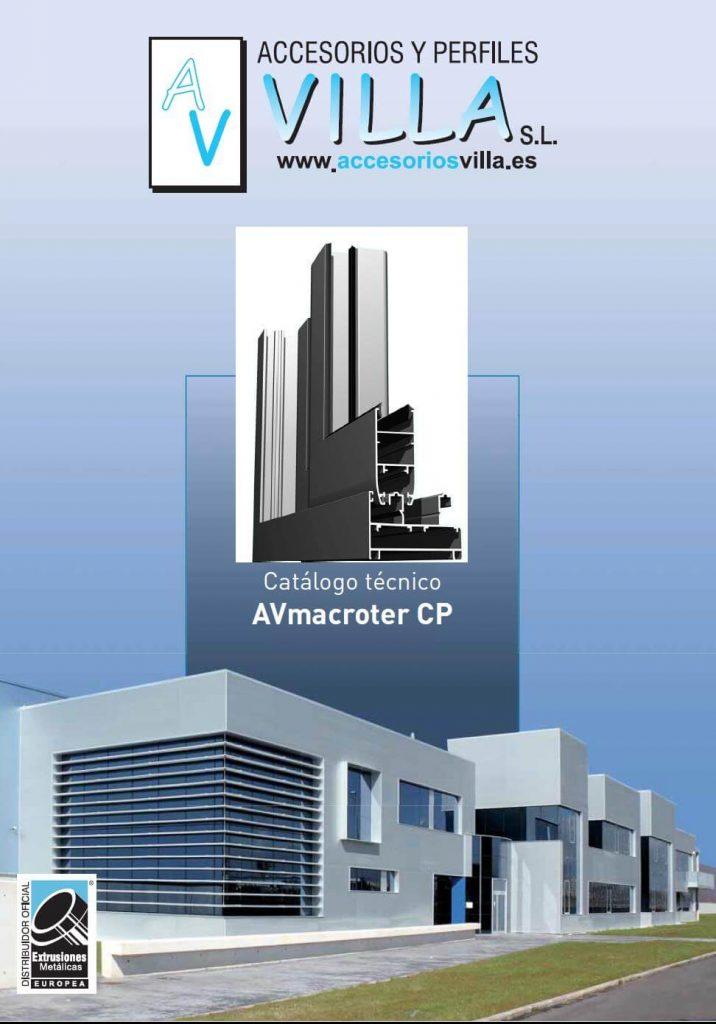 foto del catálogo técnico AVmacroter CP Accesorios & Perfiles Villa
