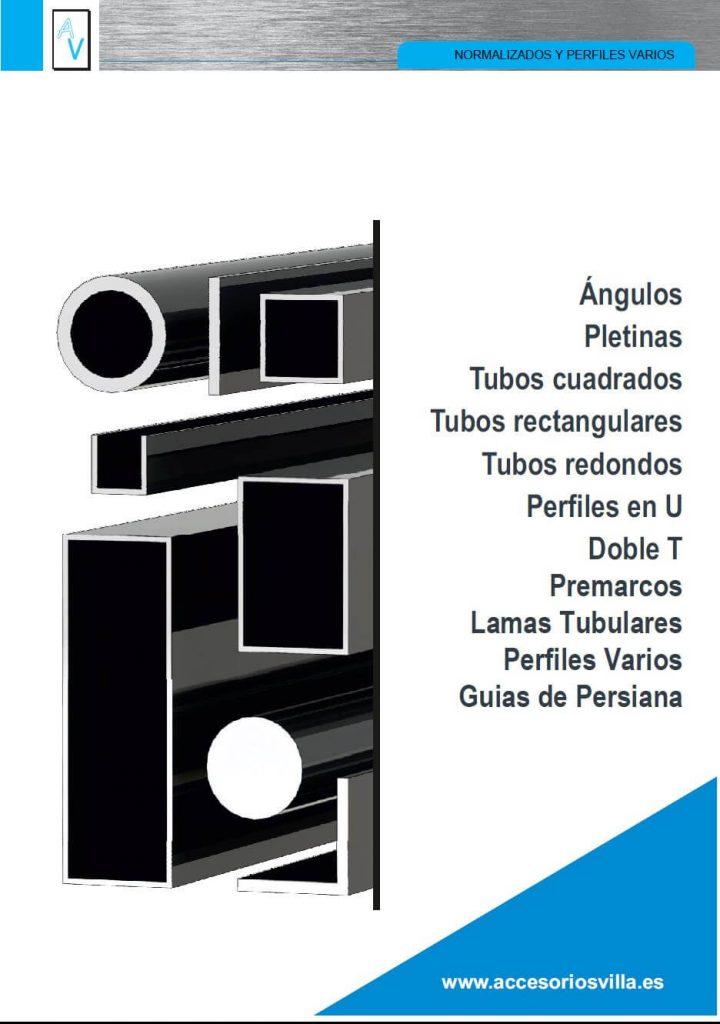 foto del catálogo Normalizado y Perfiles varios Accesorios & Perfiles Villa