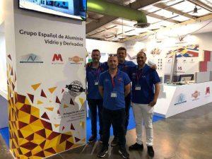 Feria Fecons 2018 grupo español de aluminio, vidrio y derivados