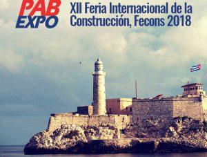 XII Feria Fecons 2018 cuba donde estuvo accesorios & perfiles villa y cristasón