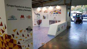 fotos del stand accesorios & perfiles villa de cuba